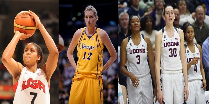 Female Basketball Players