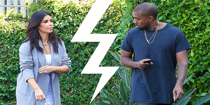 6 Signs Show That Kim Kardashian And Kanye West Marriage Is In Trouble cover