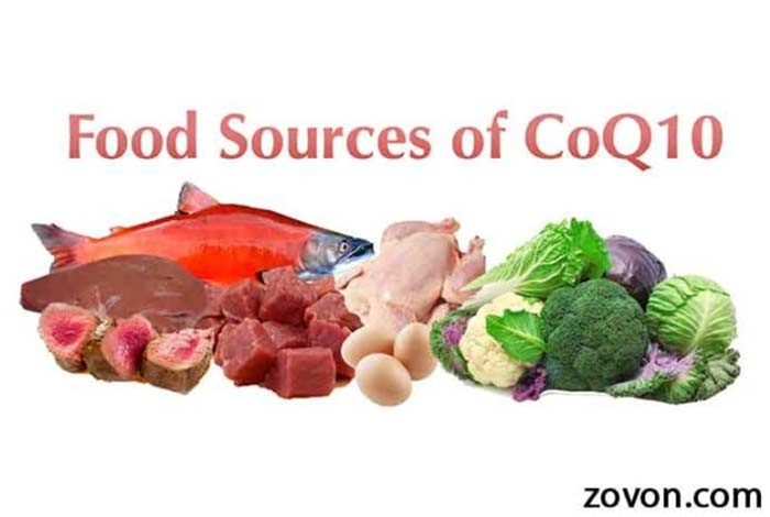 what are the sources of coq10