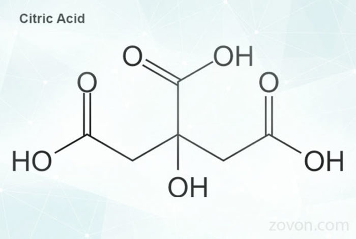 structure of citric acid