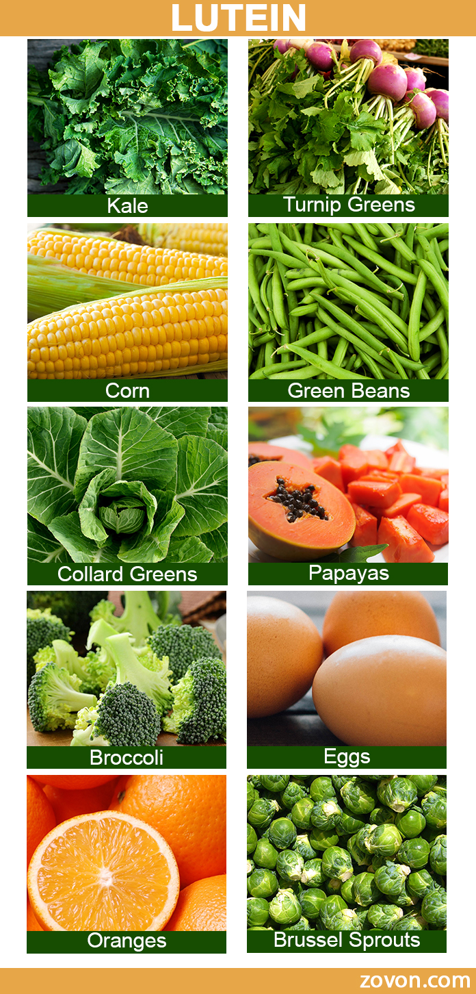 Lutein sources