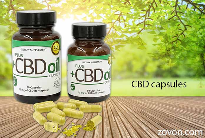 source of CBD capsules