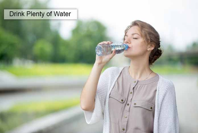 Drink Plenty of Water Food Craving and Lose Weight