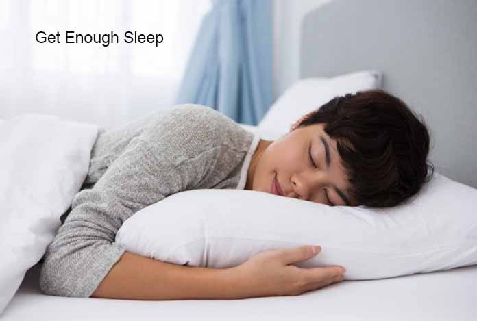 Get Enough Sleep Food Craving and Lose Weight