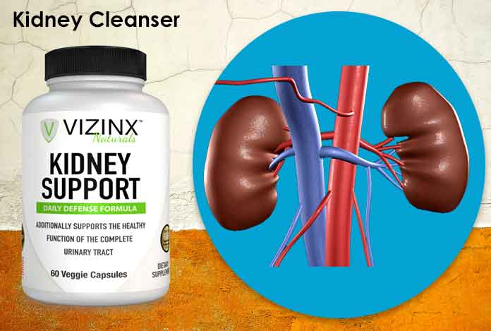 Kidney Cleanser detoxification with Supplement