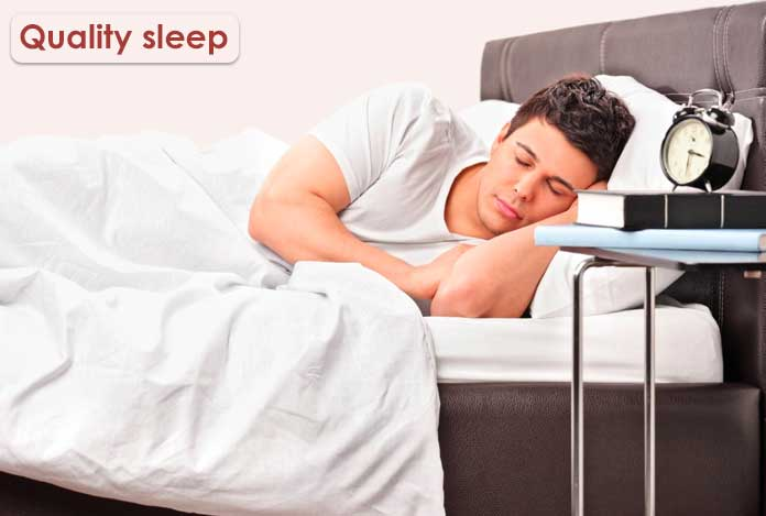 Quality sleep testosterone