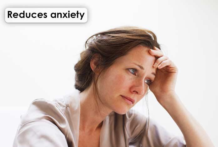 Reduces anxiety CBD oil