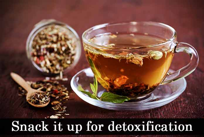 Snack it up for detoxification Detox Diet to lose weight
