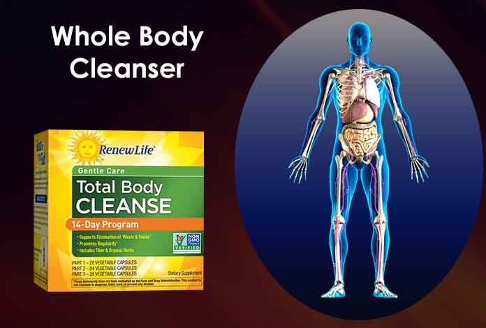 Whole Body Cleanser detoxification with Supplement