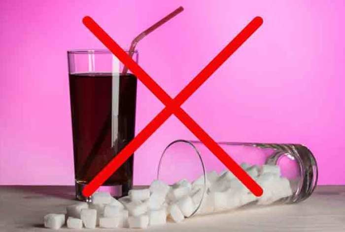 avoid sugary drinks