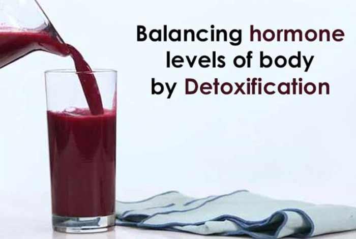 balances levels of hormones in the body
