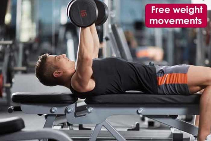 free weight movements