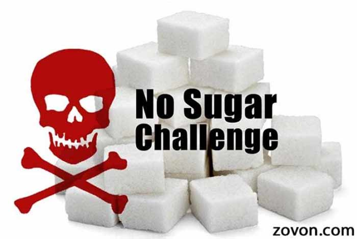 less or no sugar consumption