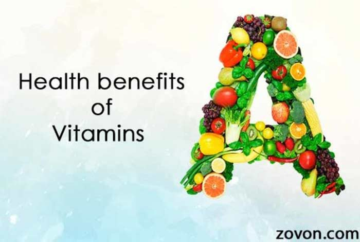 some of the benefits of vitamin a are listed below