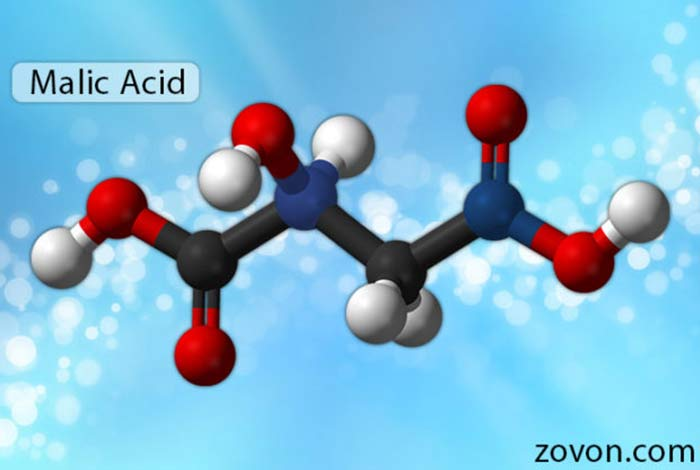structure of malic acid
