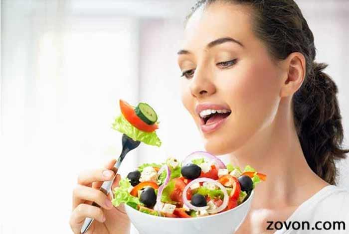 take a balanced diet