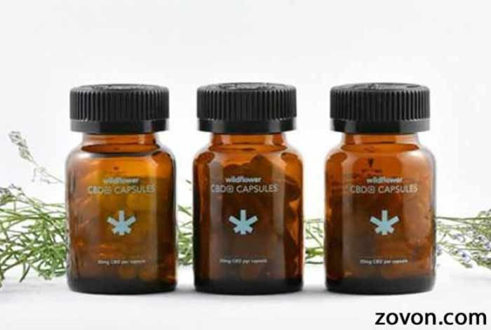 wildflower's cbd+ capsules
