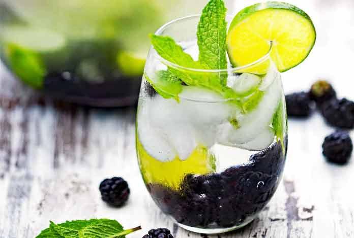 Balckberry Mint infused Detox Water