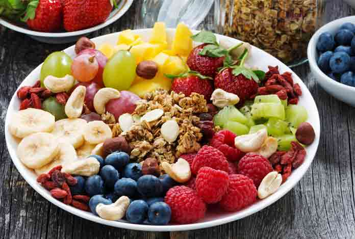 Consuming Fiber Rich Diet