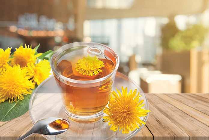 Dandelion Tea for body detox