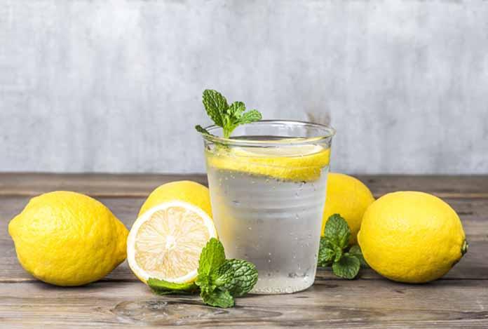 Lemon Water for body detoxification