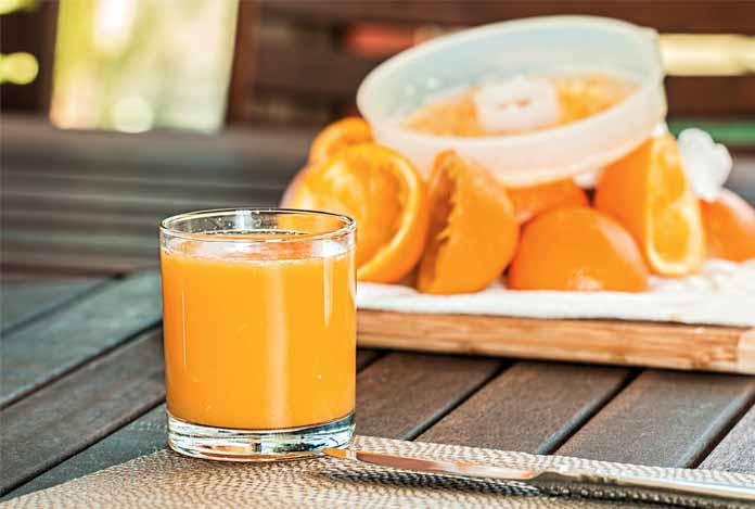 Orange Juice for detoxification