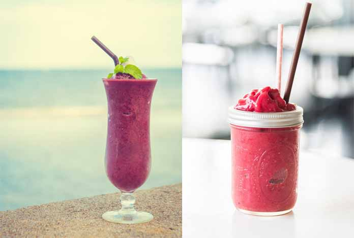 Smoothies for body detoxification