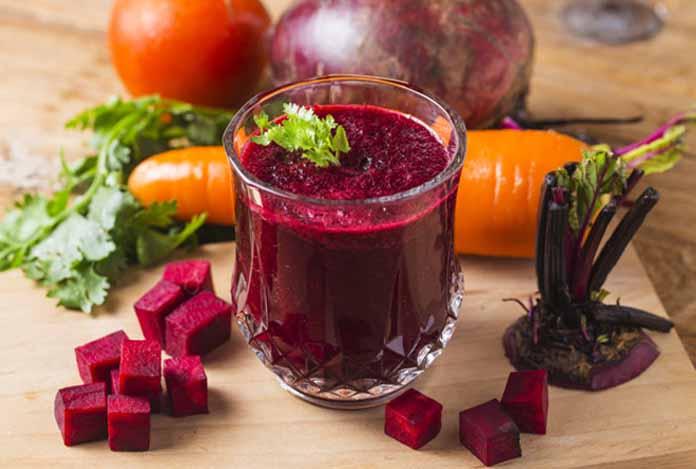 Beet Juice for body detoxification