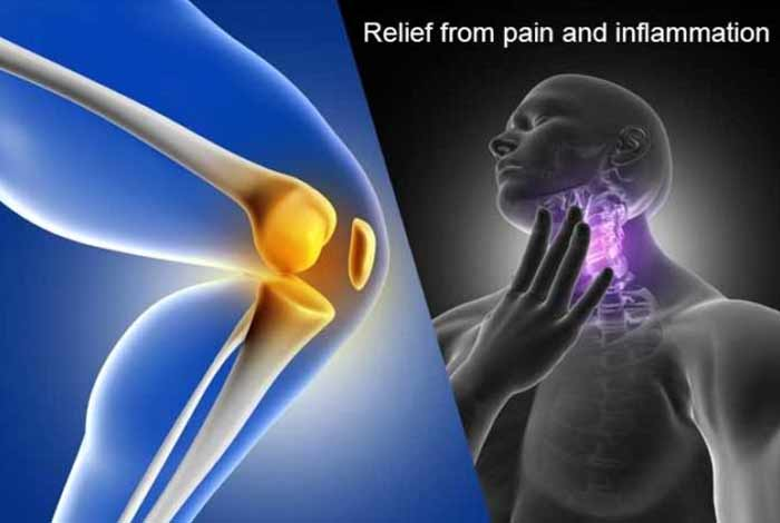 relieves pain and inflammation
