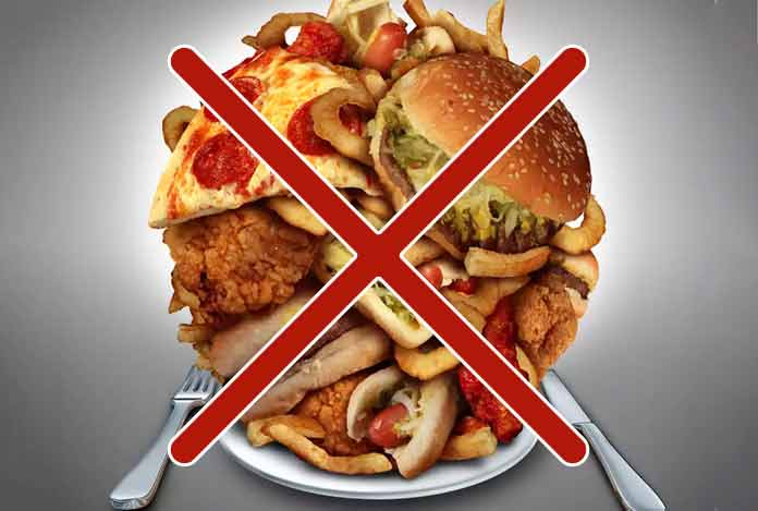 Abstain from Trans Fat for reduce belly fat