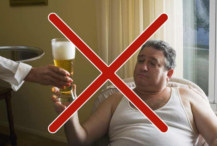 Avoid Consuming Alcohol in Excess for reduce belly fat