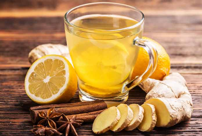 Drink Ginger Tea with Meals for Digestion