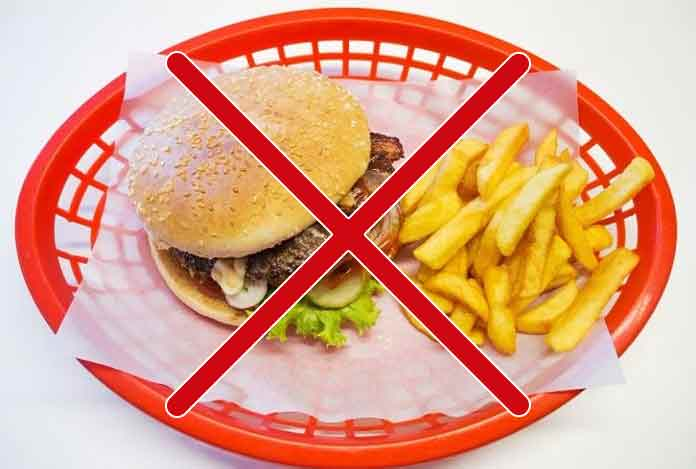 Restrict Diet that is High In Fat for Digestion