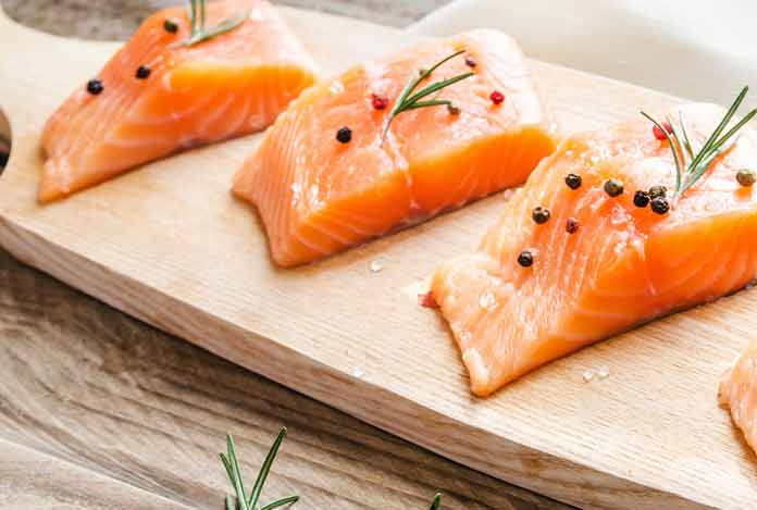 Start Eating Fatty Fish for reduce belly fat