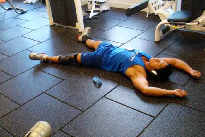 allow the muscles to recover