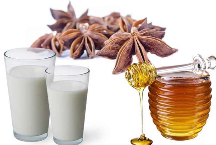 anise seeds warm milk and honey