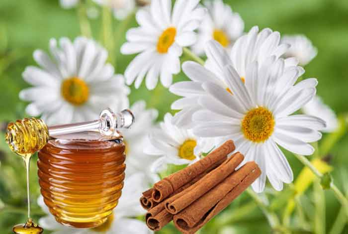 chamomile cinnamon and honey