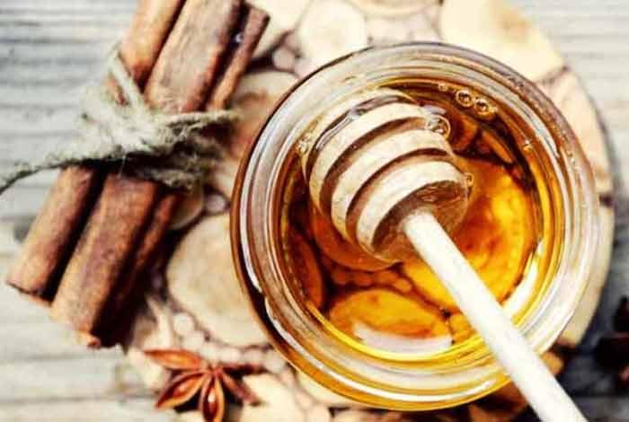 cinnamon and raw honey mix