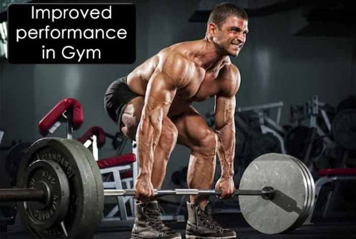 improved gym performance