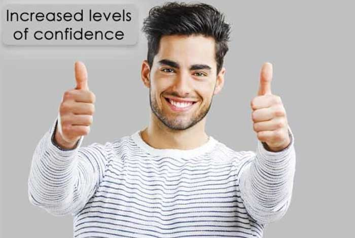increased level of confidenc