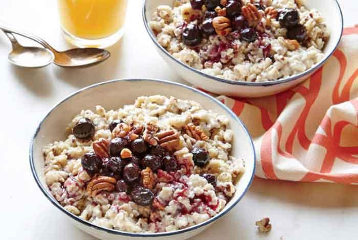 oatmeal and flax seed