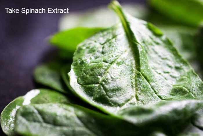 take spinach extract