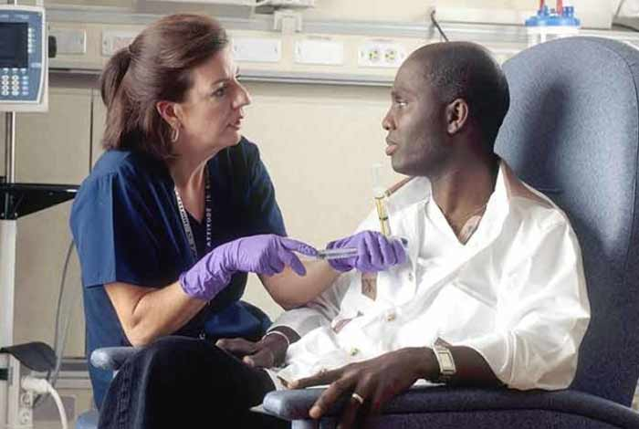 treatment and care of breast cancer in men
