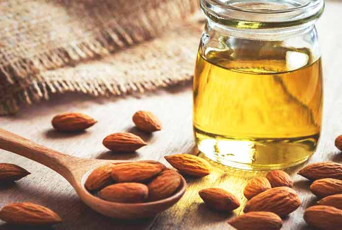 Almond oil for Home Remedies for Dry Skin