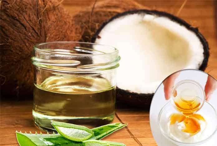 Aloe vera for Treat your damaged hair