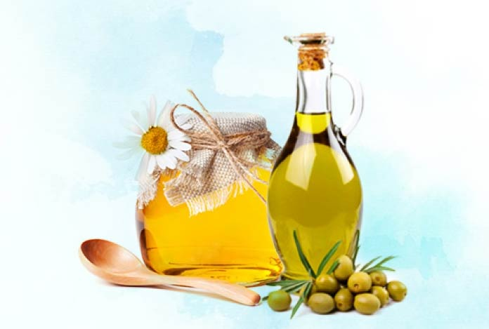 Olive Oil for Treat your damaged hair