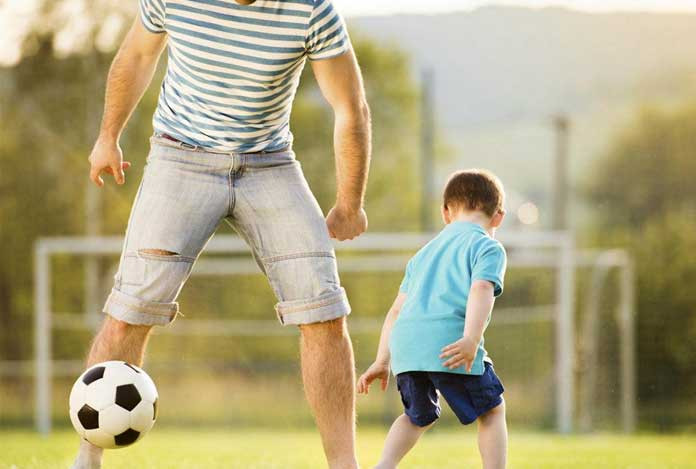 Play with children for Muscle Building Without Workout