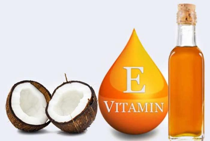 coconut and vitamine oil mask