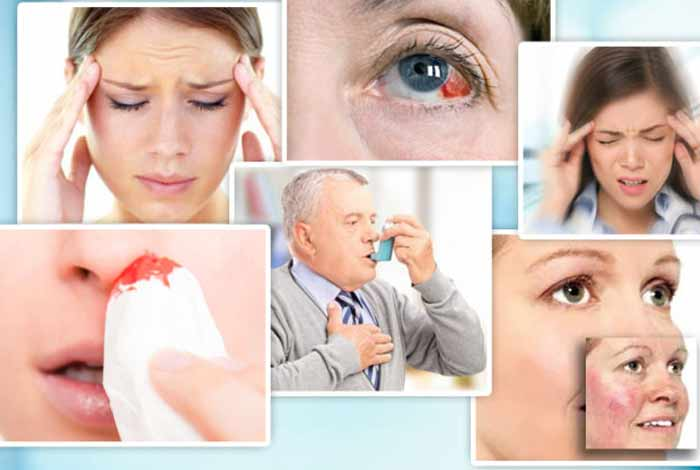 common symptoms of hypertension