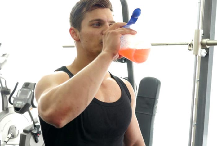 have intra workout drinks